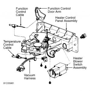 1991 Ford Explorer Heater Control Valve: Heater Problem 1991 Ford