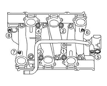 2003 chevy venture intake manifold gasket engine cooling. Black Bedroom Furniture Sets. Home Design Ideas
