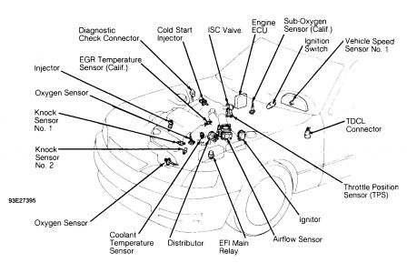 Lexus Es 300 Engine Diagram