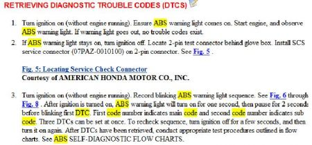 1994 Honda Accord ABS: I Was Driving the Other Day and Heard a
