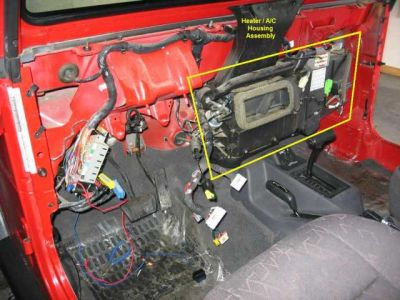 1997 Jeep Wrangler Heater Blower Heater Problem 1997