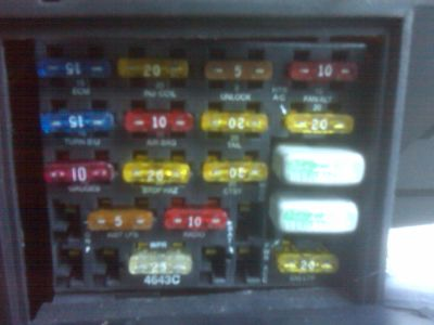 1994 Buick Century Interior and Tail Lights: Electrical Problem ...2CarPros