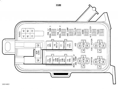 307270_Graphic_1996_1 1996 dodge truck gen light electrical problem 1996 dodge truck v8 1996 dodge dakota fuse box layout at creativeand.co
