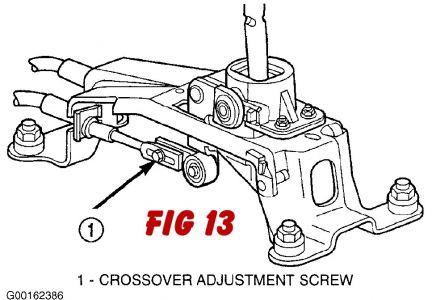 2003 Dodge Neon Adjustment Of Shift Cable Transmission Problem. 2carpros Automotive S309611 131. Dodge. Dodge Transmission Shifter Linkage Diagram At Scoala.co