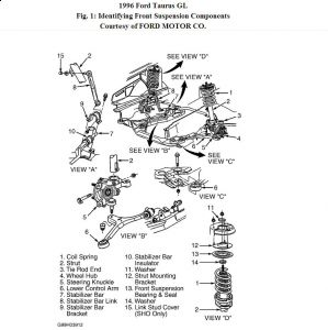 2003 ford focus front suspension diagram 2007 ford focus