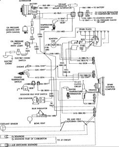 86 dodge ram 150 alternator wiring diagram  86  free