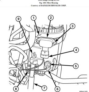 dodge ram fuel filter location 2006 dodge ram fuel filter: where is the fuel filter ... 2006 dodge ram fuel filter location