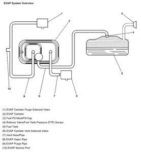Evap System Diagram 2004 Silverado