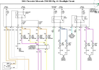 2001 chevy silverado wiring diagram autos post