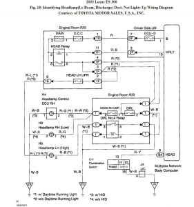 2003 lexus es 300 headlights electrical problem 2003