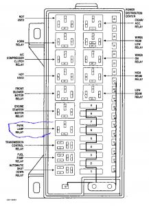 Wiring Diagram For 1997 Plymouth Voyager
