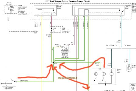 on f150 dome light wiring diagram