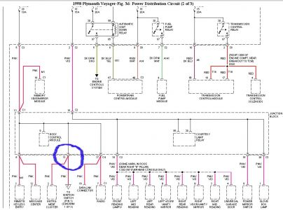 1998 plymouth voyager lost all power to coil and starter 92 plymouth voyager wiring diagram hecho