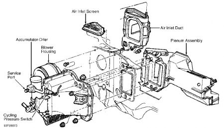 repair diagrams for 1993 lincoln town car engine transmission data 2005  lincoln town car engine diagram