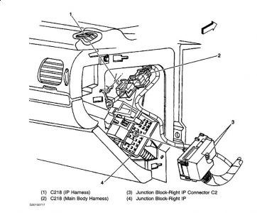 Chevrolet Impala 2002 Chevy Impala Park Lights on pt cruiser radio harness diagram