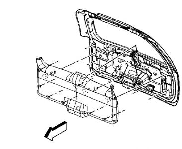 rear hatch won t open electrical problem 2006 gmc yukon v8 you can check these swap them out another fuse of the same to be sure same goes for the ecc you need to manually open the liftgate to get at