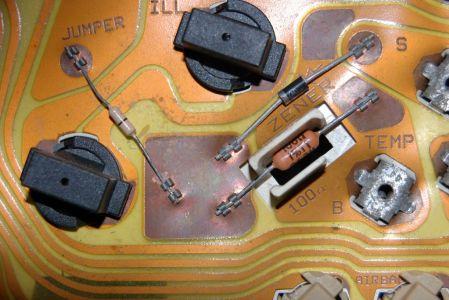 1995 ford ranger instrument panel temp gauge the temp. Black Bedroom Furniture Sets. Home Design Ideas