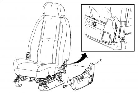 2003 Chevy Tahoe Power Seat Diagram