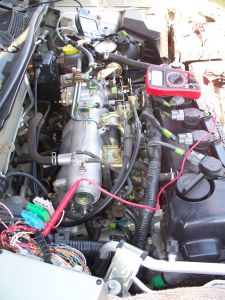 2001 Nissan Sentra Engine Stalls After 28 Seconds at Idle,