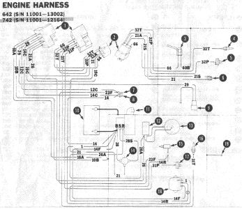 331624_wire_diag_2 1980 ford fiesta ignition spark electrical problem 1980 ford bobcat 743 starter wiring diagram at panicattacktreatment.co