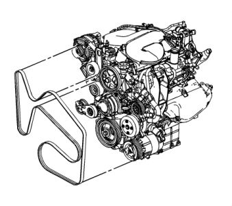 Chevrolet Impala 2006 Chevy Impala Belt Diagram