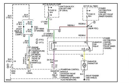 406719_dodge_fan_circuit_1 2003 dodge durango electric fan electrical problem 2003 dodge dodge durango wiring diagram at crackthecode.co