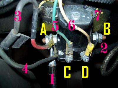 Diagram On How To Wire The Starter