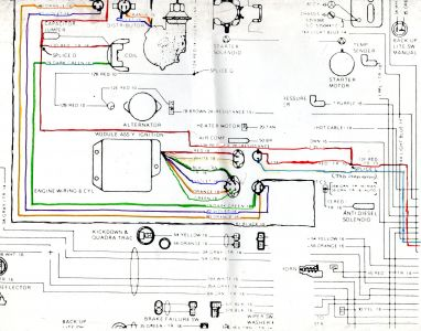 411289_DISTIGN_MODULE_colored_in_1 1978 jeep cj7 wiring diagram electrical wiring for 78 jeep cj5 1967 jeep cj5 wiring harness at mifinder.co