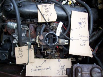 1985 Jeep CJ7 Stalls When Hot Engine Performance Problem 1985 – Jeep Engine Vacuum Diagram