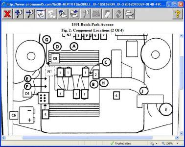 1991 buick park avenue cooling fan engine cooling problem. Black Bedroom Furniture Sets. Home Design Ideas