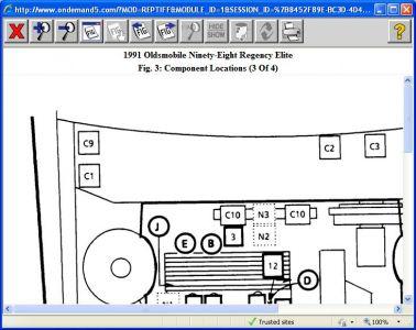 Oldsmobile Aurora A/C Compressor - 4-Seasons, Delphi, Mapco - 2002