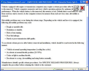 Centurylink Net Login >> 1991 Oldsmobile Regency Reset Computer: How Do I Reset the ...