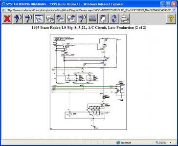 2001 Isuzu Rodeo Ac Wiring Diagram. 1995 Isuzu Rodeo Engine ... on