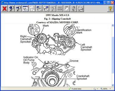 Mazada Mx Lx Timming Marks on 1996 Ford Ranger Serpentine Belt Diagram