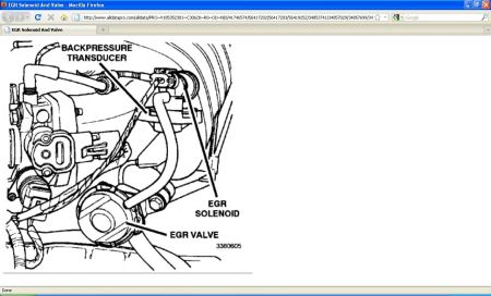 1996 Dodge Caravan Egr Valve Engine Performance Problem 1996 – Dodge Caravan Engine Diagram Egr