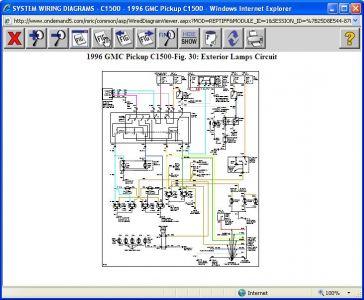 1996 GMC C1500 Brake Lights: Electrical Problem 1996 GMC ...