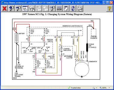 1997 saturn sc1 alternator electrical problem 1997 saturn. Black Bedroom Furniture Sets. Home Design Ideas