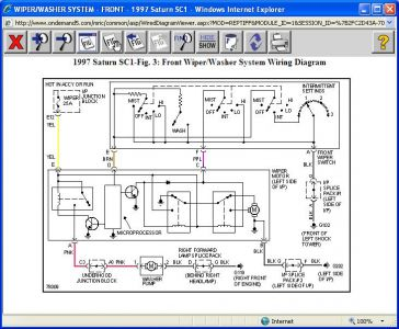 oem wiper motor wiring diagram valeo wiper motor wiring diagram 1997 saturn sc1 wipers: my wipers work on low speed ... #13