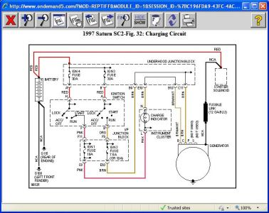 saturn alternator wiring diagram saturn image 1997 saturn sc2 charging system electrical problem 1997 saturn on saturn alternator wiring diagram