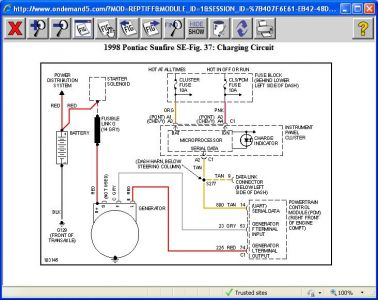 416332_1998_pontiac_sunfire_charging_circuit_1 1998 pontiac sunfire no clue electrical problem 1998 pontiac pontiac sunfire wiring diagram at bayanpartner.co