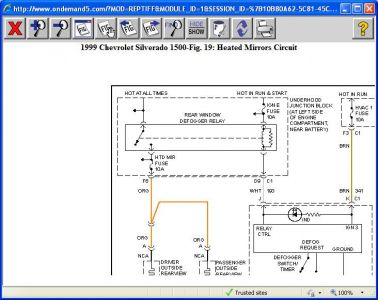 1999 gmc sierra: i have found out the heated automatic ... 1999 gmc sierra fuse diagram 1995 gmc sierra fuse diagram #13