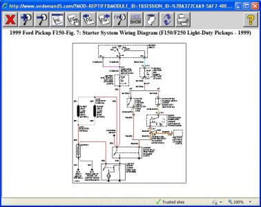1996 ford f 150 starter wiring diagram 1999 ford f150 truck won't start: my husbands truck will not start... 1996 ford f 150 stereo wiring diagram