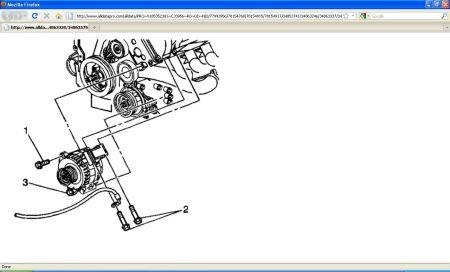 Http Www 2carpros Forum Automotive Pictures 416332 2000 Caddy Seville Sls Alternator Part4 1