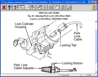 416332_2000_chevy_malibu_park_lock_cable__1 key stuck in ignition!!! 2000 2005 (other than gxp) 2013 chevy malibu wiring diagram at crackthecode.co