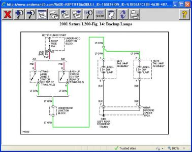 416332_2001_L200_back_up_wire_diagram_1 2001 saturn l200 location of flasher and backlight switch 2001 Saturn Fuse Box Diagram at crackthecode.co