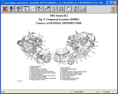 2001 Saturn SL1 Engine Diagram http://www.2carpros.com/questions/saturn-sl1-2001-saturn-sl1-problems-on-start-and-driving