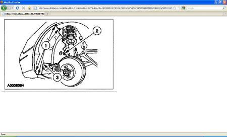 Ford Taurus Belt Removal Part on Ford Serpentine Belt Diagram