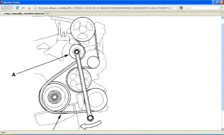 2002 Honda CRV Serpentine Belt Diagram: Need to Replace Serpentine...2CarPros