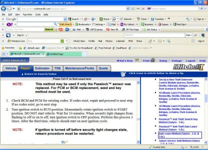 2002 Saturn SL2 Starts for 1 Sec  Then Dies