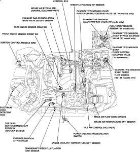 acura tl engine diagram wiring diagram directory 04 Mercury Grand Marquis Engine